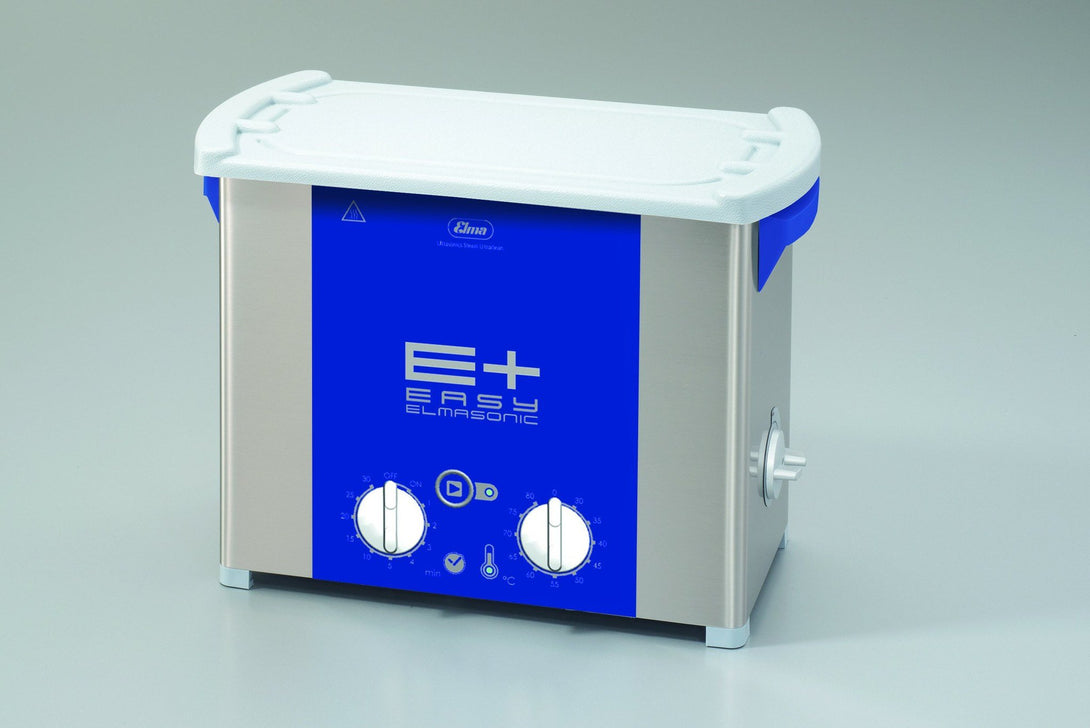 Elmasonic EP60H EPlus-Line | Ultrasonic Cleaner with Pulse & Sweep | 1.5 GAL - leadsonics