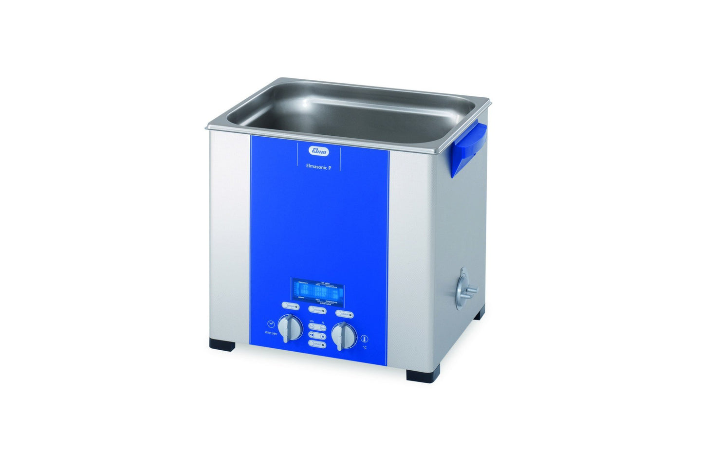Elmasonic P120H P-Line | Heated Digital Parameter Ultrasonic Cleaner | 3.5 GAL - leadsonics