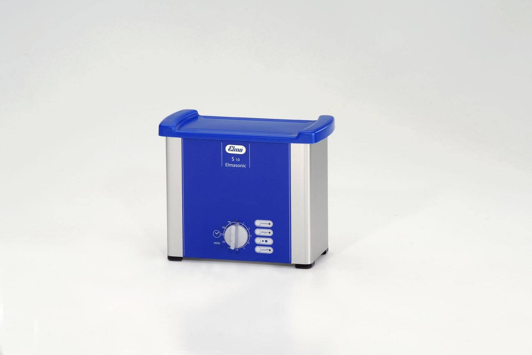 Elmasonic S10 S-Line | Economical Ultrasonic Cleaner | 0.25 GAL - leadsonics