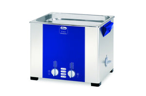 Elmasonic S100H S-Line | Heated Ultrasonic Cleaner | 2.5 GAL - leadsonics