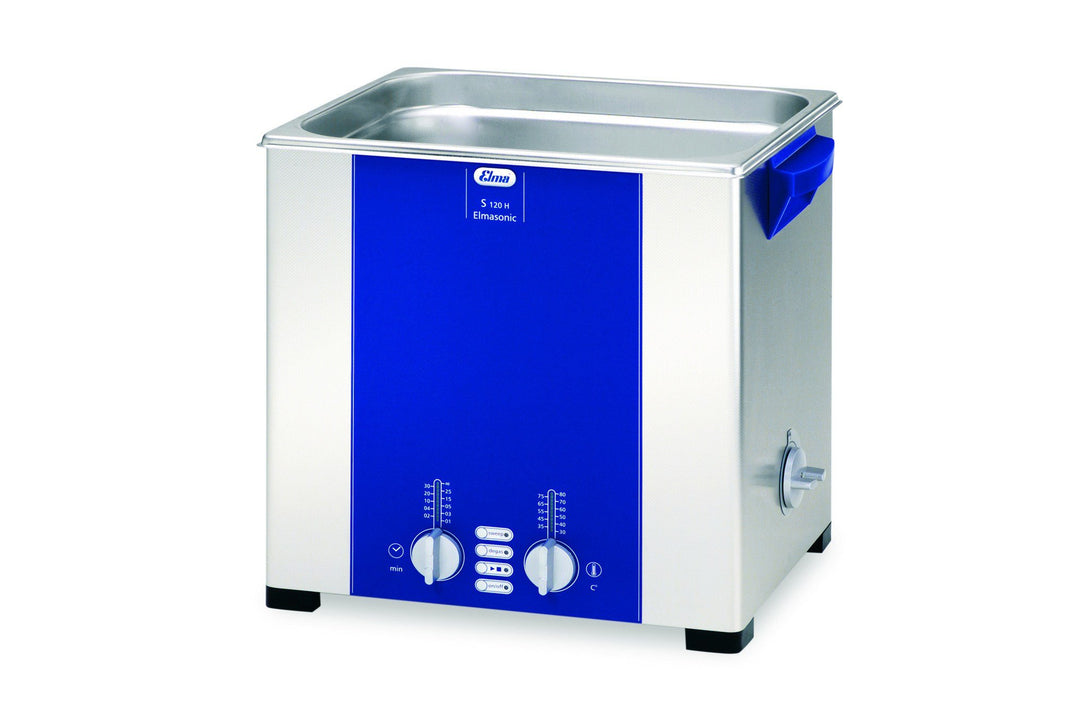 Elmasonic S120H S-Line | Heated Ultrasonic Cleaner | 3.5 GAL - leadsonics