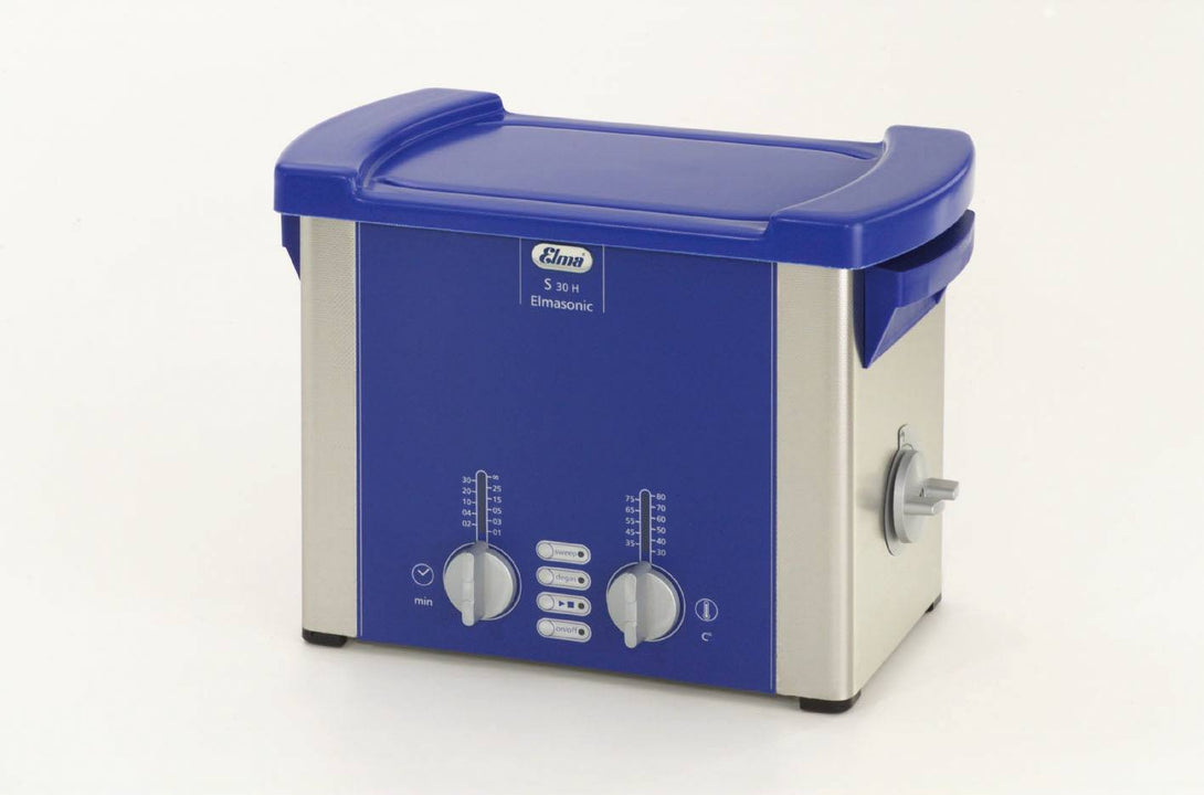 Elmasonic S30H S-Line | Heated Ultrasonic Cleaner | 0.75 GAL - leadsonics