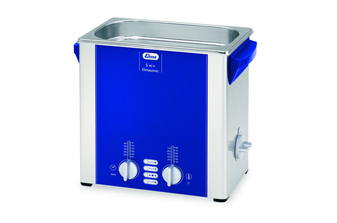 Elmasonic S40H S-Line | Heated Ultrasonic Cleaner | 1.0 GAL - leadsonics