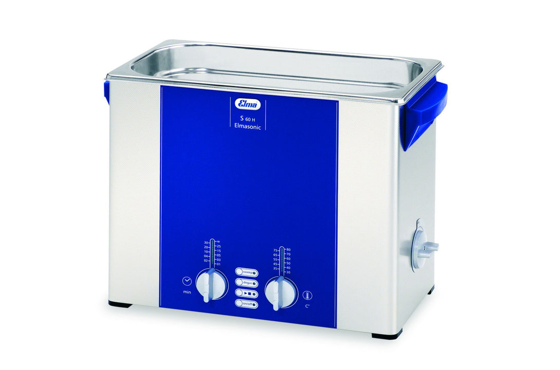 Elmasonic S60H S-Line | Heated Ultrasonic Cleaner | 1.5 GAL - leadsonics