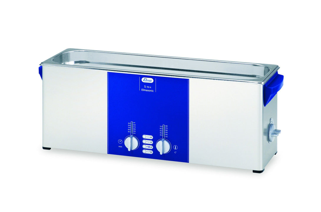 Elmasonic S70H S-Line | Heated Ultrasonic Cleaner | 1.75 GAL - leadsonics