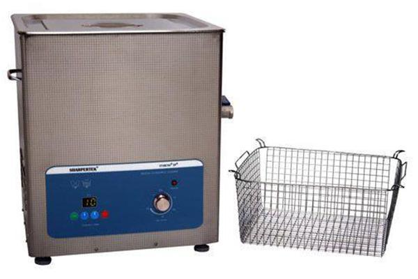 SharperTek SH500-20L | Heated Ultrasonic Cleaner With Sweep and Degas | 5.3 GAL - leadsonics