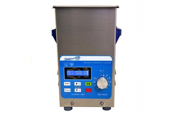 SharperTek XPS120-2.5L | Heated jewelry cleaner with sweep and degas | 2.5L - leadsonics