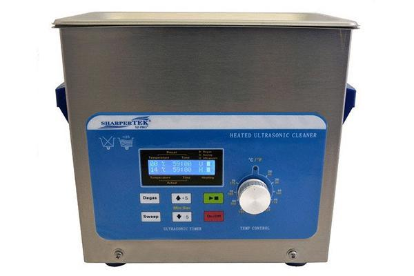 SharperTek XPS120-3L | Heated Ultrasonic Cleaner with Sweep and Degas | 0.75 GAL - leadsonics