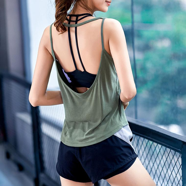 Back Open Sports Top
