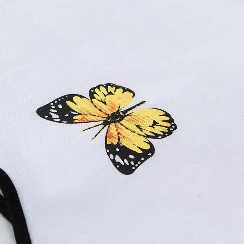 Butterfly Ringer Tank Top