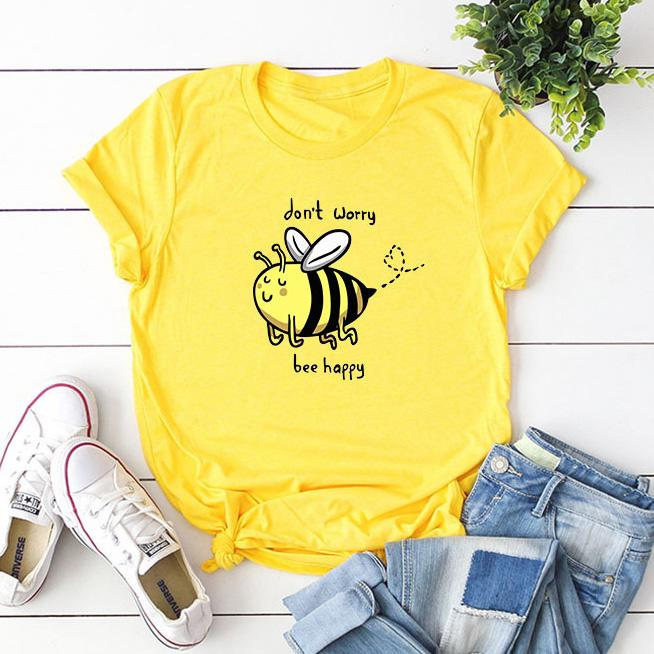 'Be(e) Happy' T-Shirt