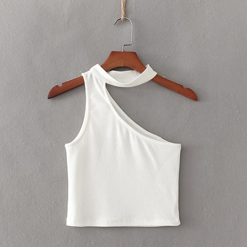 Open One Shoulder Top