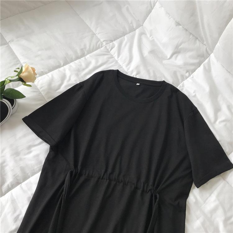 String Waist T-Shirt Dress