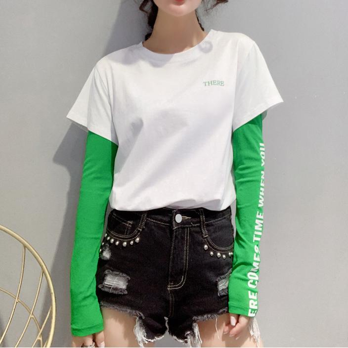 'THERE' Double Layer T-Shirt