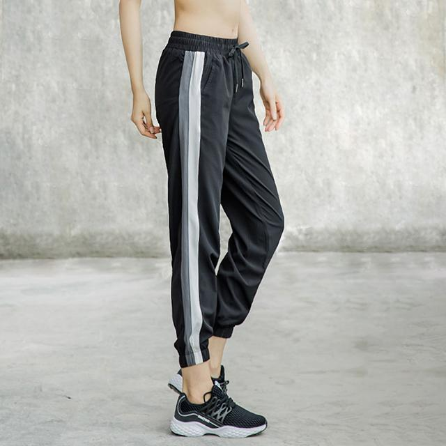 Four-Sided Elastic Fabric Pants