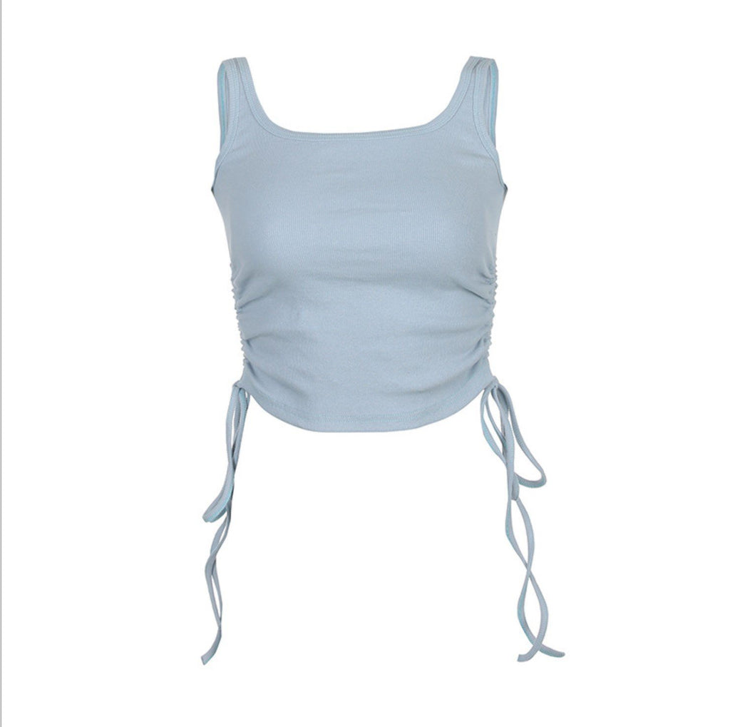 Ruched Side Tank Top
