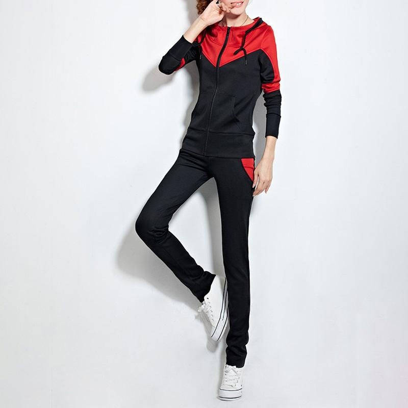 2 Piece Set of Sports Hoodie & Pants
