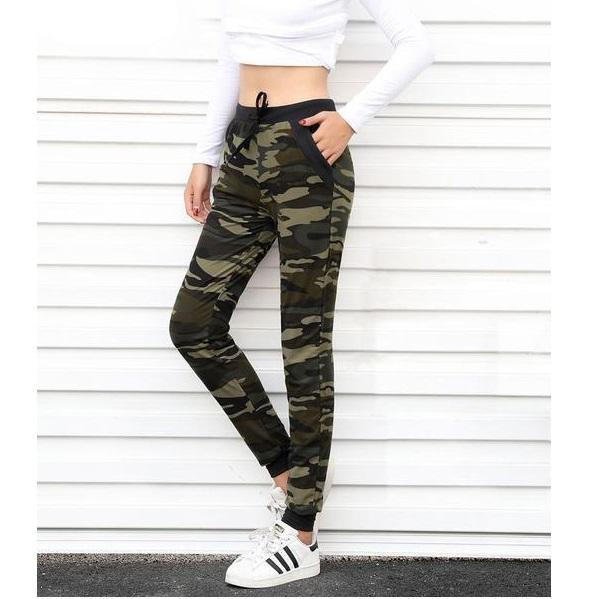 Camouflage Sweatpants