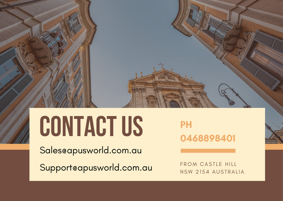 Contact Us - Apusworld.com.au