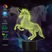 3D Unicorn Night Light