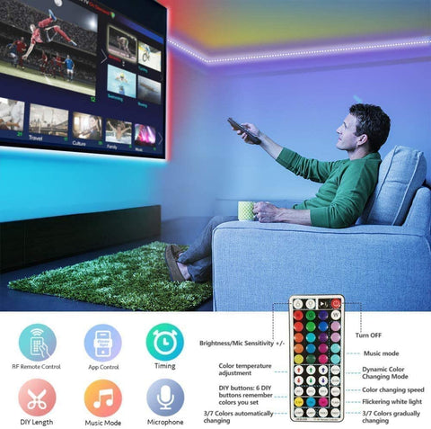 RGB Smart Wi Fi Led Light Strip (5m)
