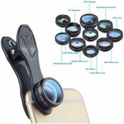 Apexel 10 in 1 Clip on Lens Kit