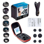 Apexel 7 in 1 Clip on Lens Kit