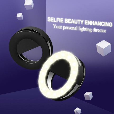 Rechargeable Selfie Ring Light Australia