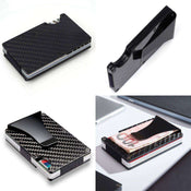 RFID Carbon Fiber Wallet Card Holder