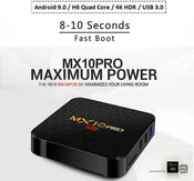 MX10 Pro Android 9.0 TV Box