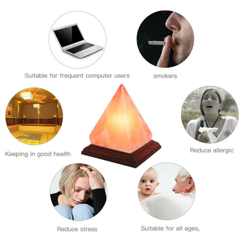 Best Himalayan Salt Lamp Pyramid