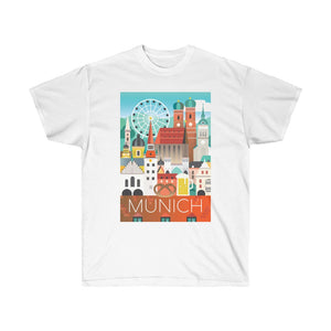 MUNICH UNISEX ULTRA COTTON TEE