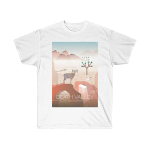 DEATH VALLEY UNISEX ULTRA COTTON TEE