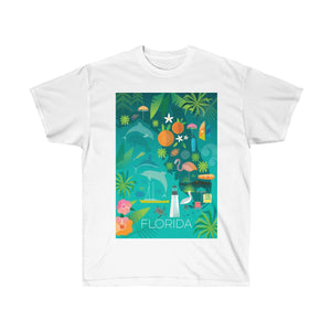 FLORIDA UNISEX ULTRA COTTON TEE