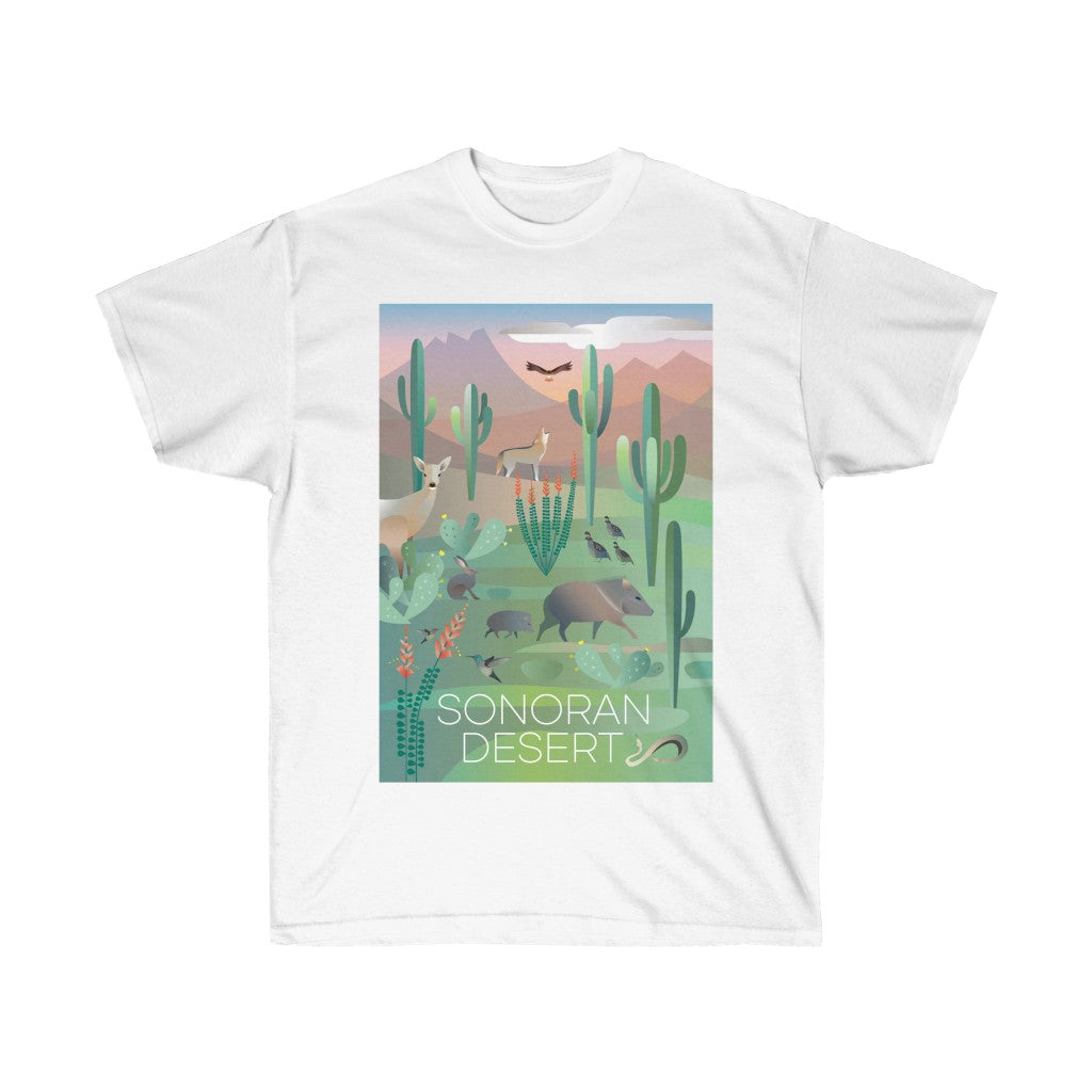 SONORAN DESERT UNISEX ULTRA COTTON TEE