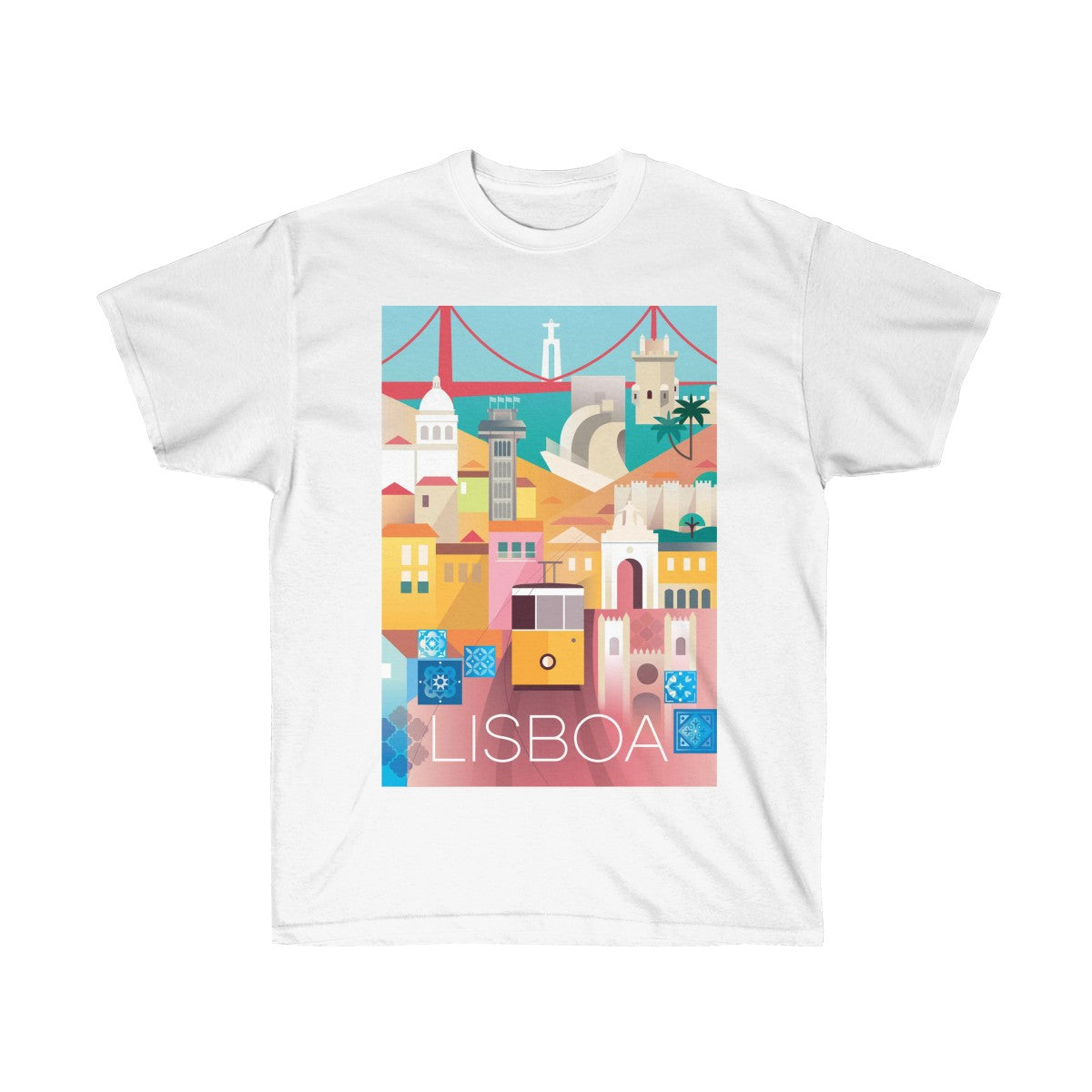 LISBON UNISEX ULTRA COTTON TEE