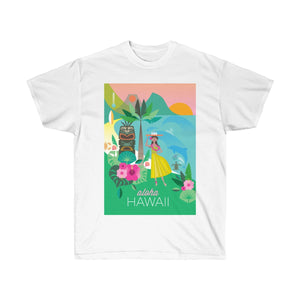 HAWAII UNISEX ULTRA COTTON TEE