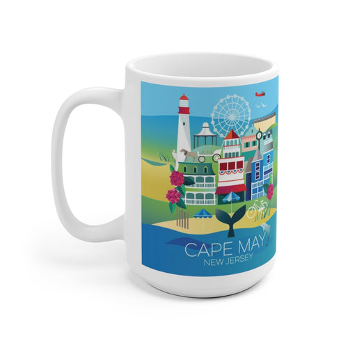 CAPE MAY 15 OZ CERAMIC MUG