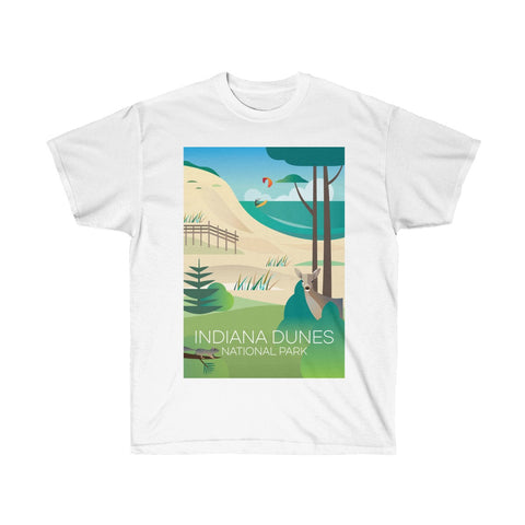 INDIANA DUNES NATIONAL PARK UNISEX ULTRA COTTON TEE