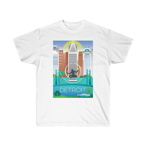 DETROIT UNISEX ULTRA COTTON TEE