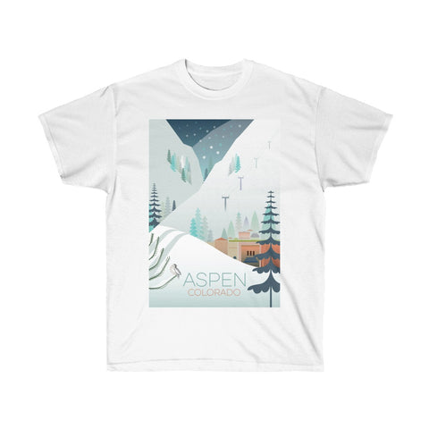 ASPEN UNISEX ULTRA COTTON TEE