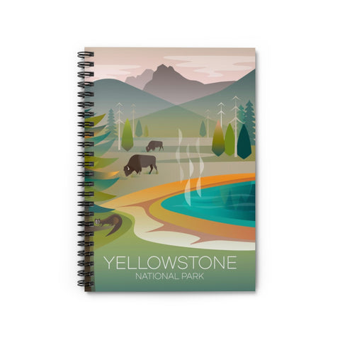 YELLOWSTONE NATIONAL PARK GRAND PRISMATIC JOURNAL