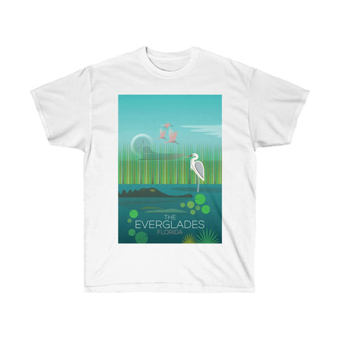 EVERGLADES UNISEX ULTRA COTTON TEE