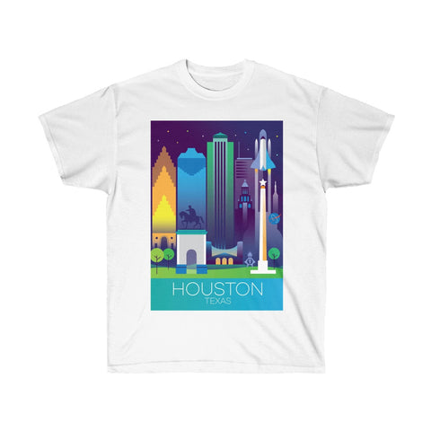 HOUSTON UNISEX ULTRA COTTON TEE