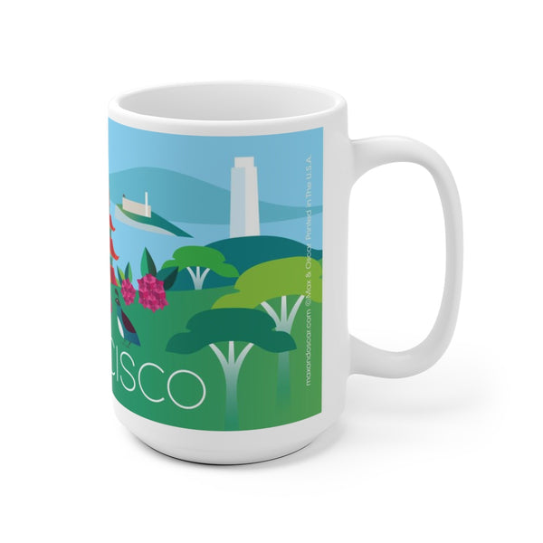 SAN FRANCISCO 15 OZ CERAMIC MUG