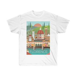 FLORENCE UNISEX ULTRA COTTON TEE