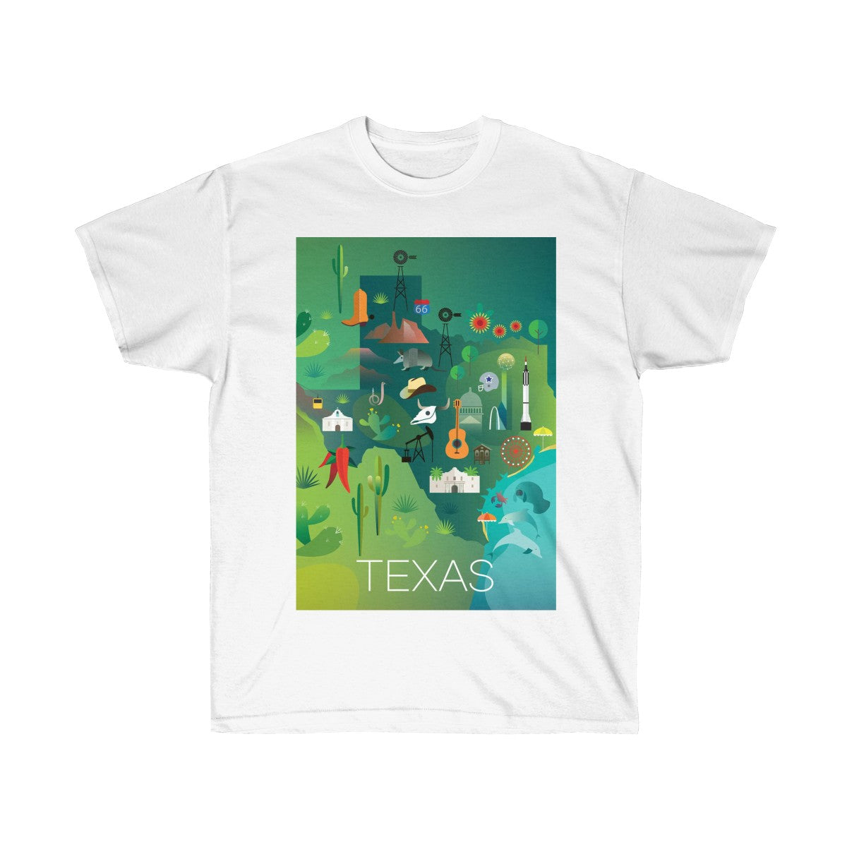TEXAS UNISEX ULTRA COTTON TEE