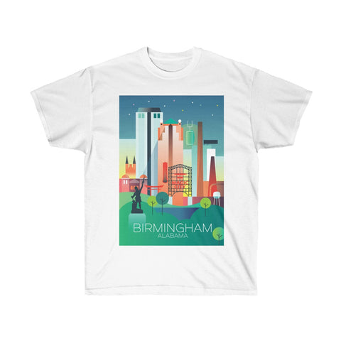 BIRMINGHAM UNISEX ULTRA COTTON TEE