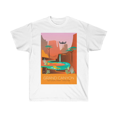 GRAND CANYON UNISEX ULTRA COTTON TEE