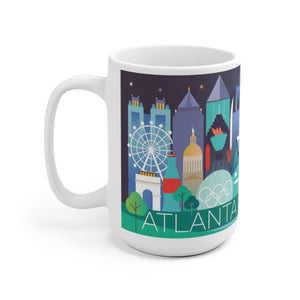 ATLANTA 15 OZ CERAMIC MUG
